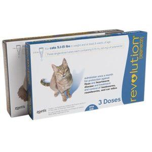 Revolution Feline Cats Pets Animal Medication Pharmacy Online.