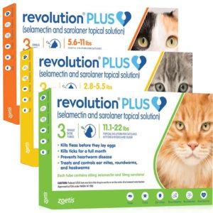 Revolution® PLUS Feline Topical Solution