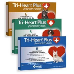 Tri-Heart Plus Chewable Tablets for Dogs main4