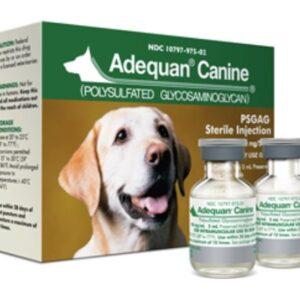 Adequan Canine 100mg-ml 5 ml Vial box