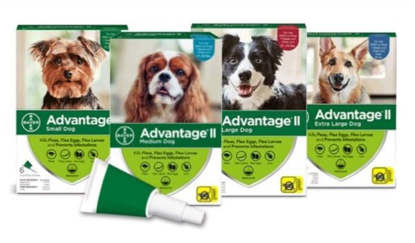 Advantage II Topical Solution for Dogs all Poducts