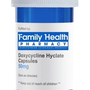 Doxycycline Hyclate (Generic) Capsules 50mg