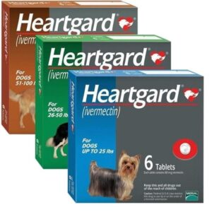 Heartgard Unflavored Tablets for Dogs