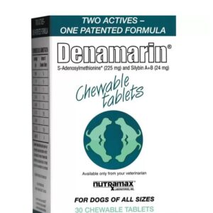 Nutramax Denamarin Chewable Tablets Dog Supplement 30CT