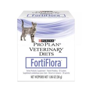 Purina Pro Plan Veterinary Diets FortiFlora Probiotic Gastrointestinal Support Cat Supplement 30ct