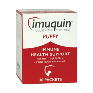 Nutramax Imuquin Immune Health Support dog Supplement, 30 count Dogs less than 6mo