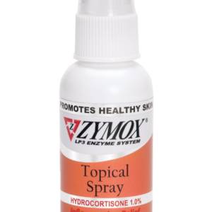 Zymox Topical Spray with Hydrocortisone 1.0% for Dogs & Cats, 2-oz bottle