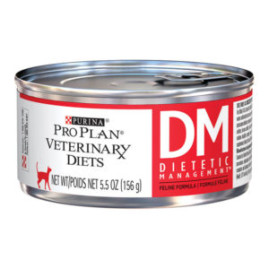 Purina Pro Plan Veterinary Diets DM Dietetic Management Formula Canned Cat Food, 5.5-oz, case of 24